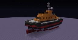 Coast Guard Boat Minecraft Map & Project