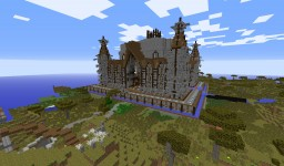 Server Spawn [Download] Built By AU Build Team Minecraft Map & Project