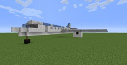 Palau Micronesia Air Boeing 737-33A Minecraft Map & Project