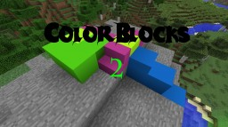 Color Blocks 2 [1.7.10] [340 colors by default] Minecraft Mod