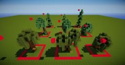 Small Custom Tree Bundle Minecraft Map & Project