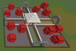 Candyland Spawn Minecraft Map & Project