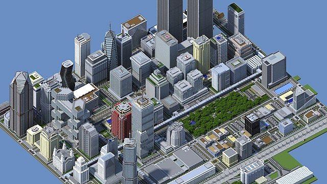 Modern city megabuild titan city minecraft project overview gumiabroncs Choice Image