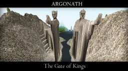 Argonath - The Gate of Kings Minecraft Project