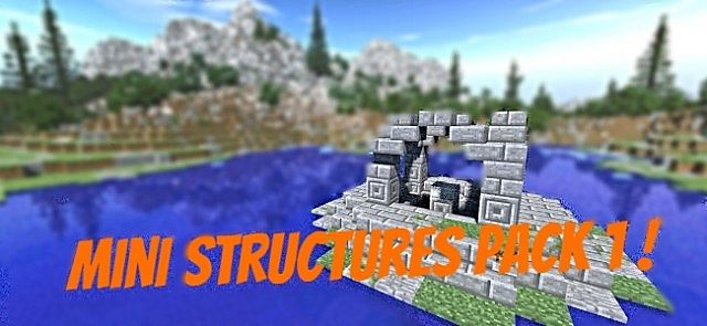 Mini structures pack 1 ! 11 schematics ! Minecraft Project on