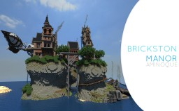 Brickston Manor Minecraft Map & Project
