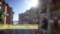 Italian Townhouse Minecraft Map & Project