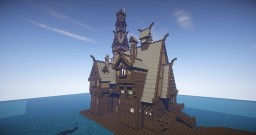Esgaroth: The Laketown of Men Minecraft Project