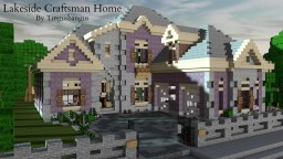 Lakeside Craftsman Home|TMA|Cubed Minecraft