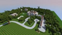 Crespi Estate Rebuild - A finest estate home in america Minecraft Map & Project