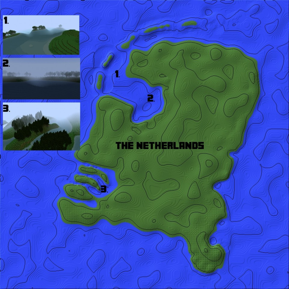 The Netherlands Country Rebuild The Map The