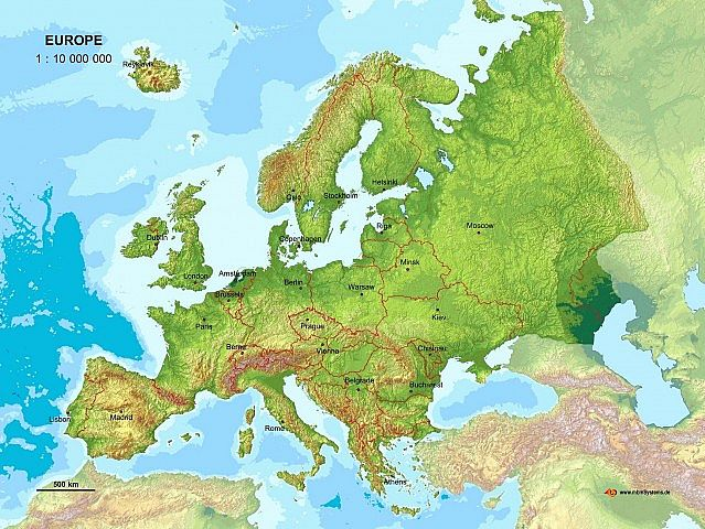Map Of Europe X Minecraft Project - Sweden map minecraft download