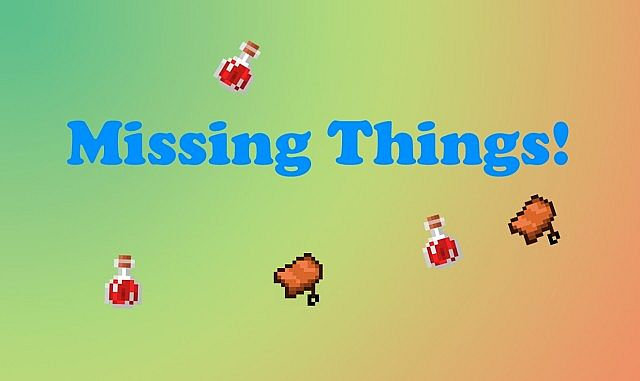 Missing Things Mod