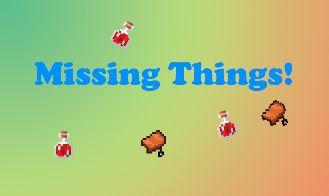 how to find missing things