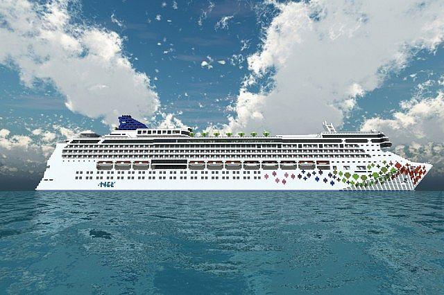 Norwegian Gem Scale Cruise Ship Download Minecraft Project - Norwegian gem cruise ship