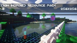 Tron Inspired Resource Pack (1.8.1) (256x & 64x)