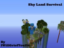 Skyland Survival Minecraft Map & Project