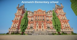 Arenwich Elementary school | TMA | WoK Minecraft Project