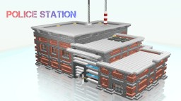 ESS | Police Station Minecraft Map & Project