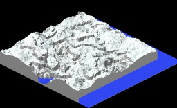 Mountain Range Minecraft