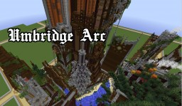 Umbridge Arc Steampunk Factory and Late Medieval Village (server plot) Minecraft Project