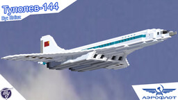 Tupolev Tu-144 (USSR) - Aeroflot | Full Interior | Download Minecraft Map & Project