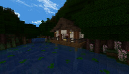 Asian Theme House area Minecraft Map & Project