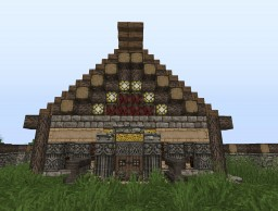 my warlord  middle age house Minecraft Map & Project