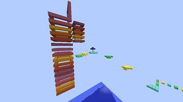Sprint Sprint and Away - Parkour Map (played by ...