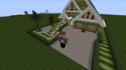 Neighborhood House Minecraft Map & Project