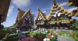 Minecraft Timelapse - Medieval Village ElderClada