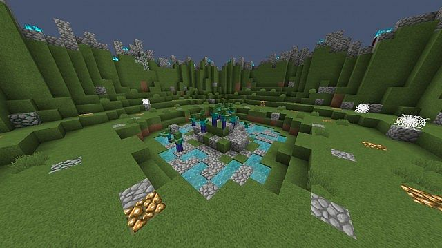 Zombie Pvp Practice Map Minecraft Project