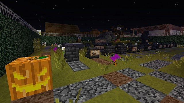 1.8] Nate's Halloween Resource Pack v2.2.0 Minecraft Texture Pack