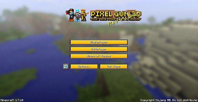 2014 10 19 2121548248494 [1.9.4/1.8.9] [32x] MC WAR Pixel Gun 3D Texture Pack Download