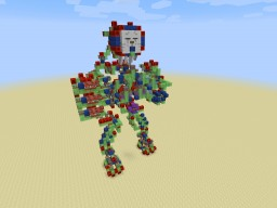 Mech Deoxys Minecraft Project