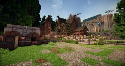 """medieval Tavern """"Sternmaid"""" Minecraft Project"""