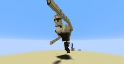 Giant Golem Statue Minecraft Map & Project