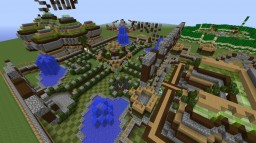 Big Spawn for servers With (Shop,Rules,Teleports)