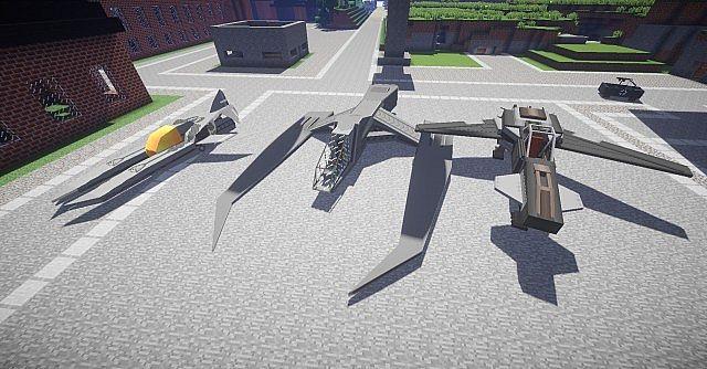 AF-15, UTF Scimitar and AF-12