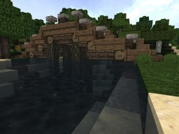 Detailed bridge Minecraft