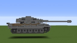 Germany Panzer,  Königstiger Minecraft Map & Project