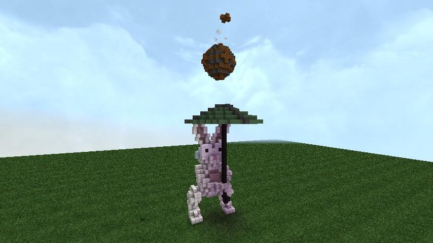 Minecraft Bunnies Cake Ideas And Designs