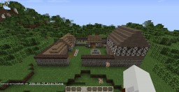 Medieval farmhouse Minecraft Map & Project