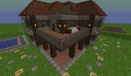 Cabin style Mansion Minecraft Project