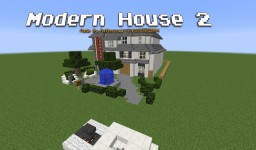Modern House 2 Minecraft Map & Project