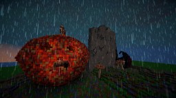 """""""Small"""" Halloween Build Minecraft Map & Project"""