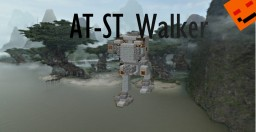 AT-ST Walker [#3 in the Star Wars Vehicles & creatures series!!] By shnitzit Minecraft Map & Project