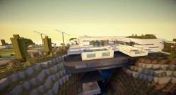 Modern Moutain house, l'ellipse by Drmagik Minecraft Map & Project