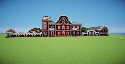 Russian manor Minecraft Map & Project