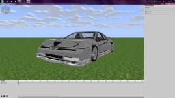 Alfa Romeo GTV car - Mine-imator rig Minecraft Map & Project